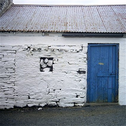 Another White Wall, Another Blue Door
