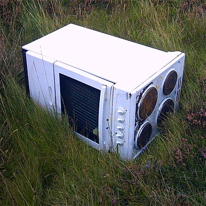 Cooker in the Grass