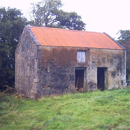 Derelict with Red Roof