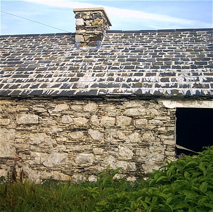 Empty with Slate Roof