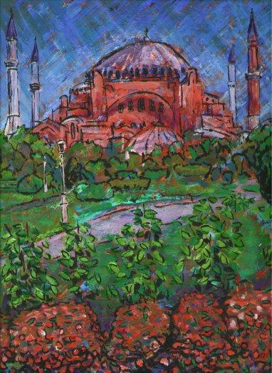 Aya Sofiya I, a painting