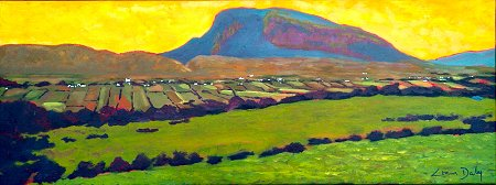 A Donegal painting - of Muckish From Falcarragh