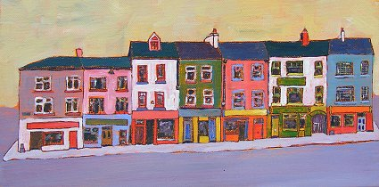 a painting of Listowel in Ireland's County Kerry