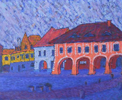 Tyn nad Vltavou, a painting