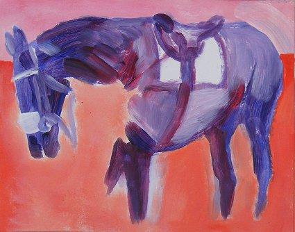 Horse, Saddled
