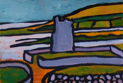 Mini landscape, Burren Tower