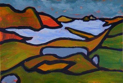Mini landscape, Caherdaniel Fort