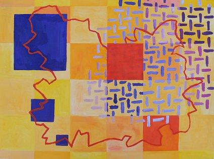 Squares, Yellow Map