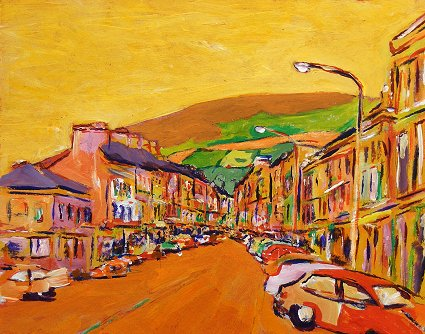 Painting of Bantry in Cork