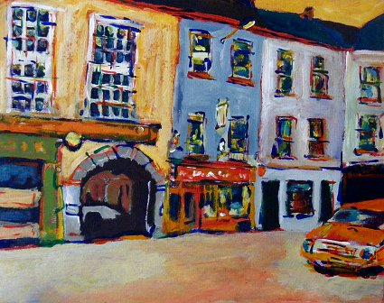 Painting of Tralee in Kerry