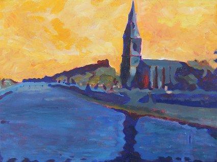 Painting of Ballina