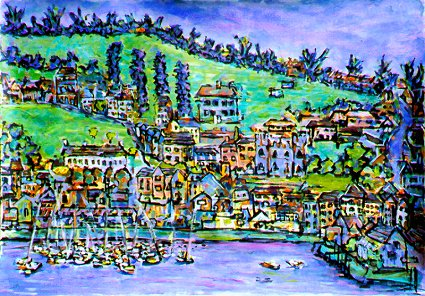 Painting of Kinsale