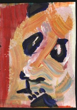 painting of a Panda