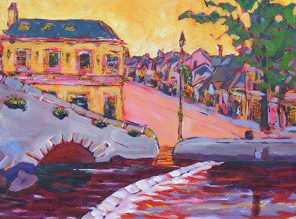 Painting of Westport in Mayo