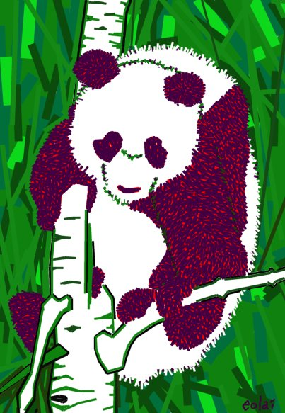 Panda Time, a special time
