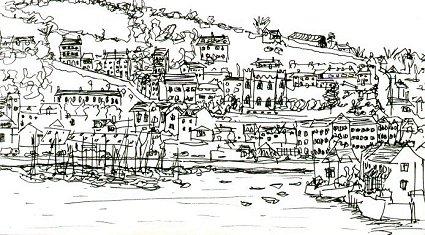 Sketch of Kinsale