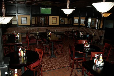 Interior of Waxy O Sheas Irish Pub in Kansas City