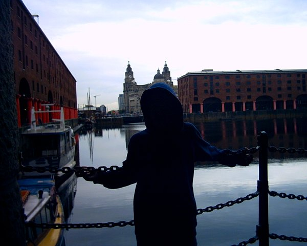 In Liverpool, before the trip to Goodison Park to watch Everton play