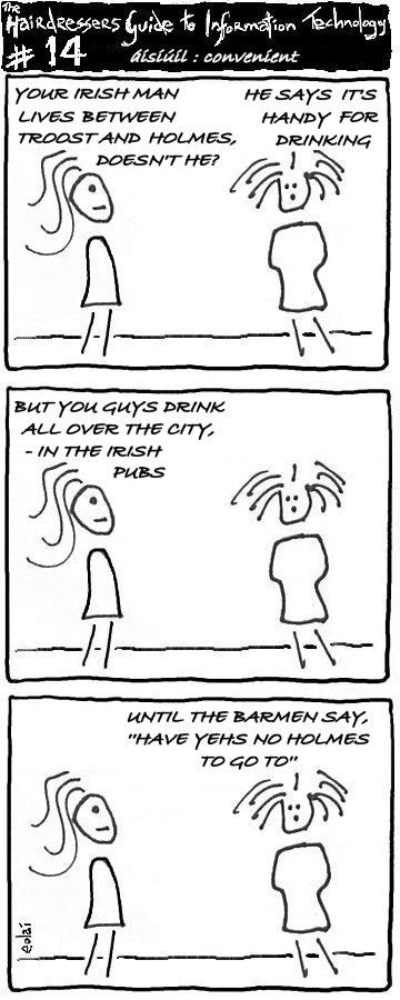 Cartoon HGIT 14 - áisiúil : convenient