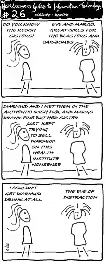 Irish American Cartoon HGIT 26: Health
