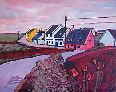 Original Irish Painting: Doolin
