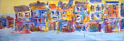 Painting called Irish Street I