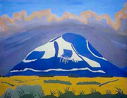 Painting of Nephin