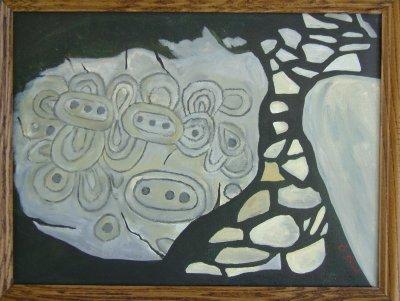 Newgrange Kerbstone Painting