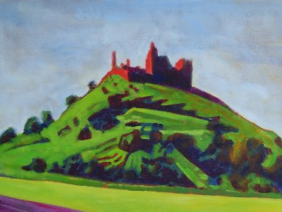Painting of The Rock Of Cashel