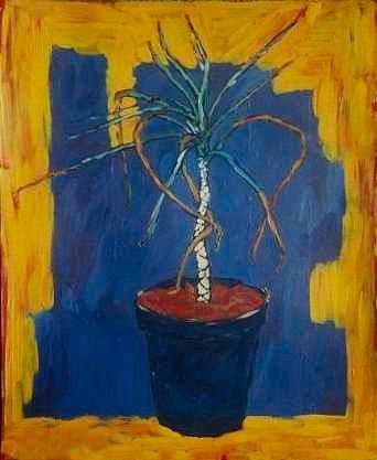 Vinnys Plant, a painting