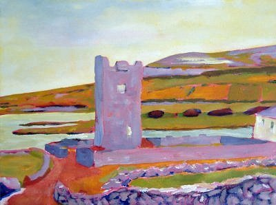 Burren Tower painting