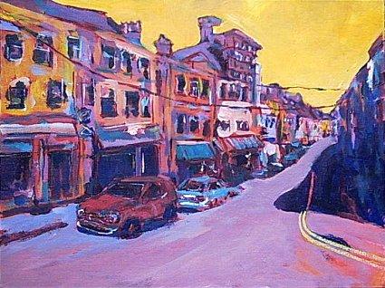 Bandon, Cork - a painting