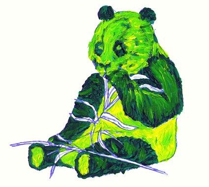 irish panda