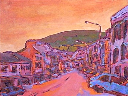 Painting of Bantry, Cork