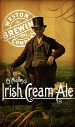 Poster for O malleys Irish Cream Ale
