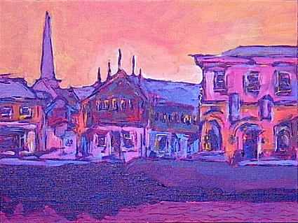Painting of Wexford Town
