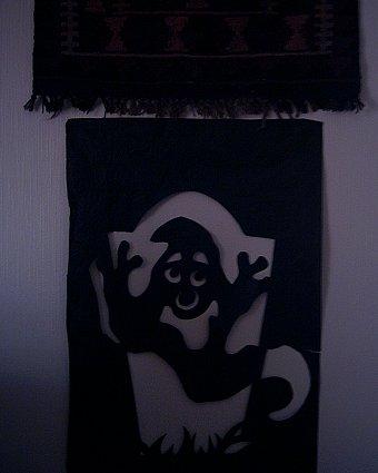 gravestone silhouette