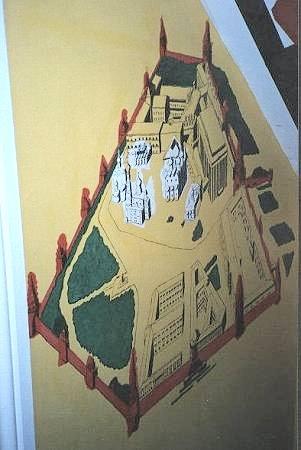 Kremlin mural