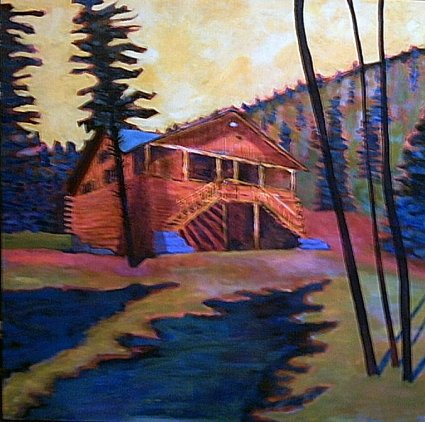Painting: The Cabin