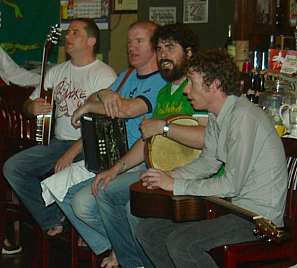 The Fuchsia Band in Paddy Malones