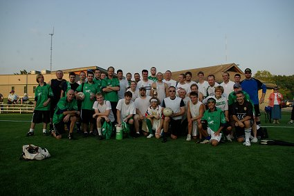 KC GAC teams for the 1st Celtic Ranch Cup